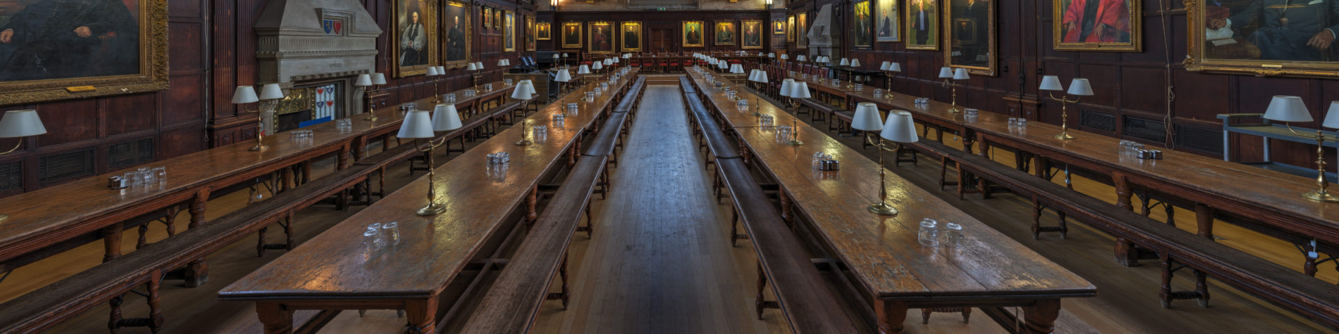 Oxford Balliol College Dining Hall