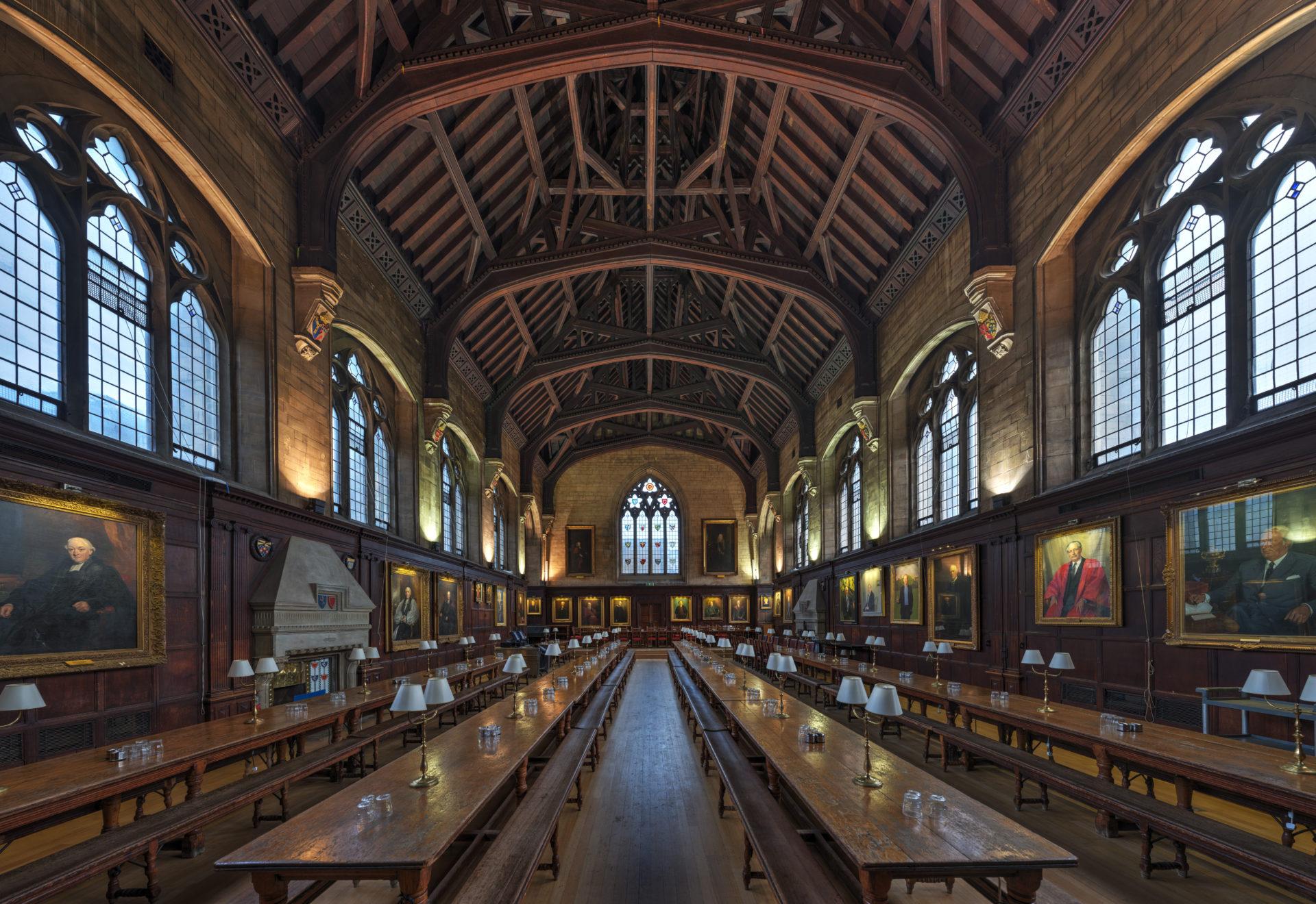 Oxford Balliol College Dining Hall