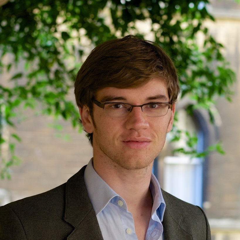 Professor William MacAskill in Oxford. Photo by Andre Camara