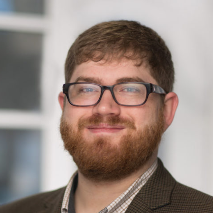 Close up of researcher Miles Brundage