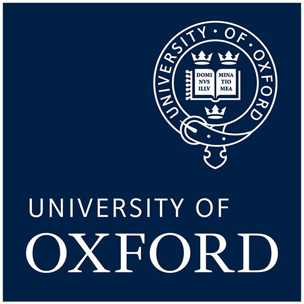 Oxford university logo blue