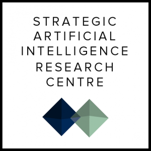 Strategic Artificial Intelligence Research Centre logo