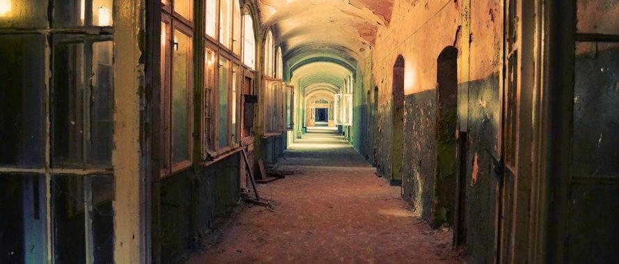 Berlin hallway, vintage